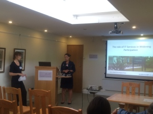 Kate and Ylva on the role of IT Services in widening participation