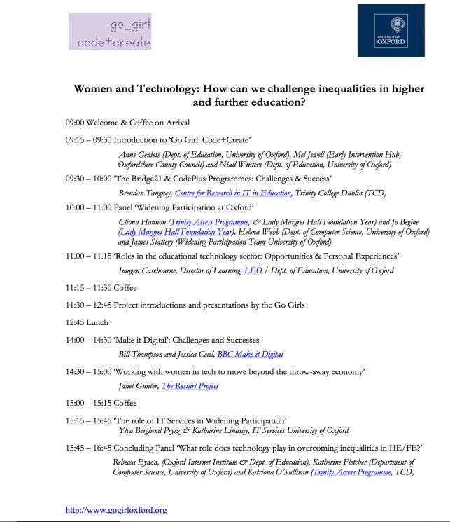Symposium Programme