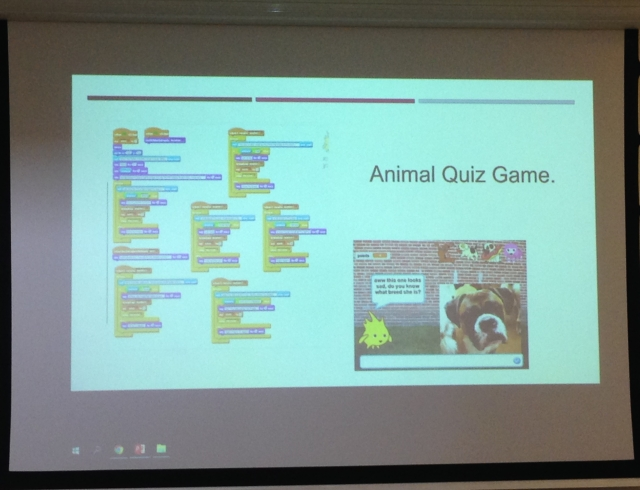 Animal quiz game